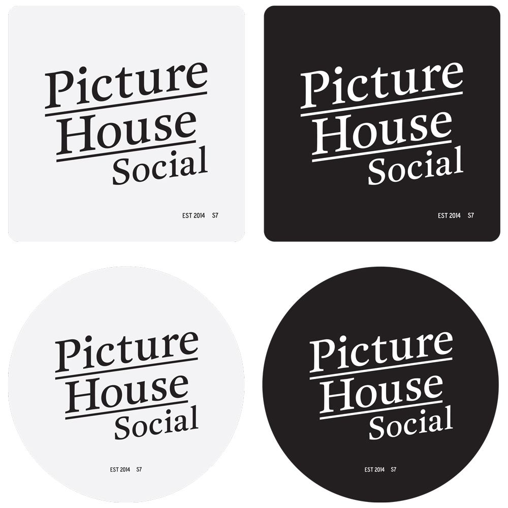 Picture House Social coasters