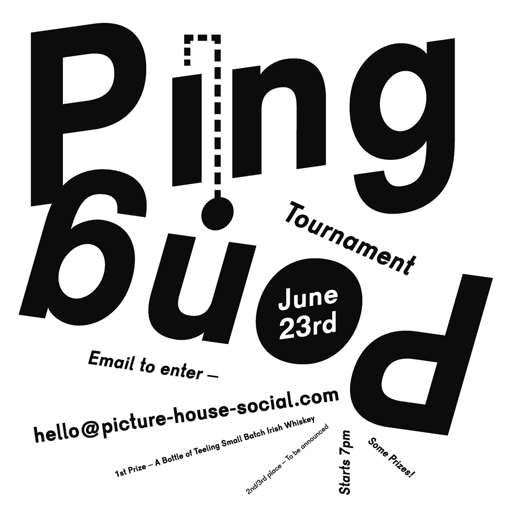 Picture House Social event poster