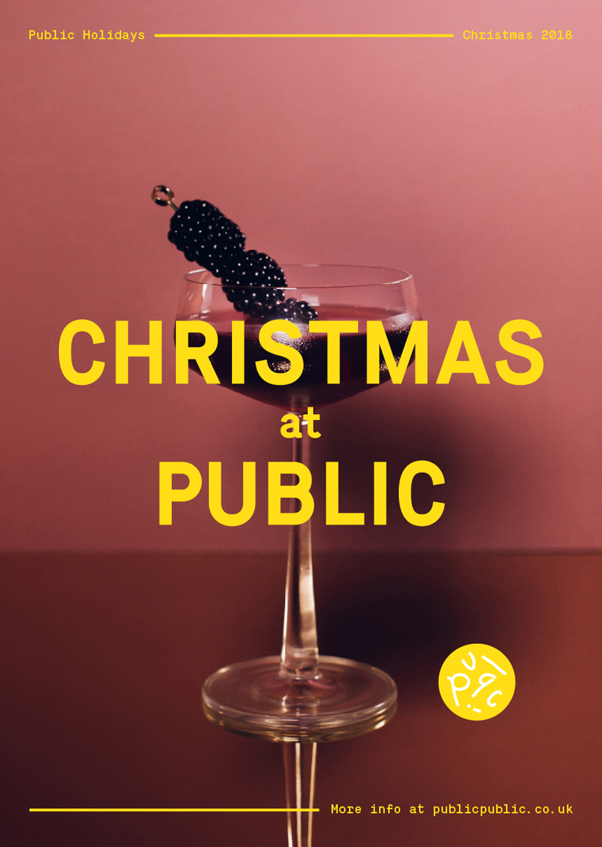 Public Christmas Poster