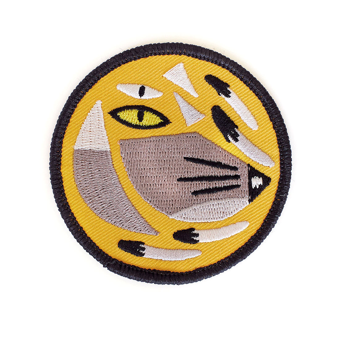 Thought Fox embroidered patch